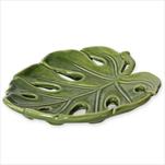 List Monstera keramika 19x17cm zelená - velkoobchod, dovoz květin, řezané květiny Brno