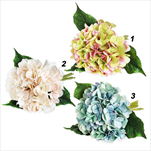 Hortenzie kytice umělá 33cm mix - velkoobchod, dovoz květin, řezané květiny Brno