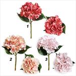 Hortenzie umělá 33cm mix - velkoobchod, dovoz květin, řezané květiny Brno