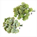 Větvička zápich pvc 14cm zelená mix - velkoobchod, dovoz květin, řezané květiny Brno