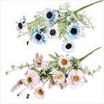 Kytice umělá 55cm  mix - velkoobchod, dovoz květin, řezané květiny Brno