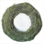 Kruh vánoční proutí pr.49cm zelená - velkoobchod, dovoz květin, řezané květiny Brno