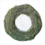 Kruh vánoční proutí pr.38cm zelená - velkoobchod, dovoz květin, řezané květiny Brno
