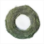 Kruh vánoční proutí pr.26cm zelená - velkoobchod, dovoz květin, řezané květiny Brno