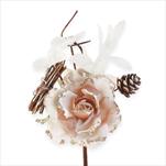 Růže zápich 18cm krém - velkoobchod, dovoz květin, řezané květiny Brno