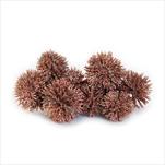 Plody přízdoba vánoční 20ks/3cm růžová - velkoobchod, dovoz květin, řezané květiny Brno