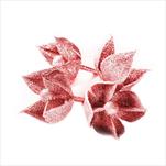 Květ přízdoba pvc 4ks/5cm červená - velkoobchod, dovoz květin, řezané květiny Brno