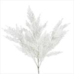 Cypřiš umělý 55cm bílá - velkoobchod, dovoz květin, řezané květiny Brno