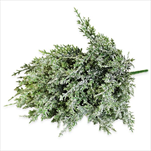 Thuje umělá 36cm zasněžená - velkoobchod, dovoz květin, řezané květiny Brno