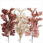 Listy větev textil 85cm mix - velkoobchod, dovoz květin, řezané květiny Brno