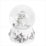 Sněžítko sova sádra 6,5cm bílá - velkoobchod, dovoz květin, řezané květiny Brno
