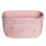 Truhlík keramika 20x11cm růžová - velkoobchod, dovoz květin, řezané květiny Brno
