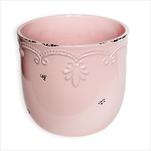 Obal keramika pr.13,4V11,6cm růžová - velkoobchod, dovoz květin, řezané květiny Brno