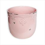 Obal keramika pr.10V9cm růžová - velkoobchod, dovoz květin, řezané květiny Brno