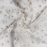 Dekorační látka polyester 36cm/500cm,WHITE - velkoobchod, dovoz květin, řezané květiny Brno