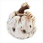 Dýně keramika 10cm bílá - velkoobchod, dovoz květin, řezané květiny Brno