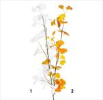 Gingo větev umělá 110cm mix - velkoobchod, dovoz květin, řezané květiny Brno