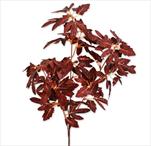 Větev listy podzim umělá 80cm - velkoobchod, dovoz květin, řezané květiny Brno