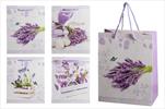 Taška design levandule velká - velkoobchod, dovoz květin, řezané květiny Brno
