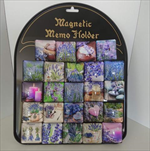 Ke magnet čtverec design levandule - velkoobchod, dovoz květin, řezané květiny Brno