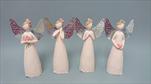 KE Andílek béžový kovová křídla - velkoobchod, dovoz květin, řezané květiny Brno