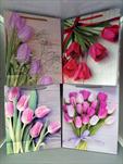 Taška motiv kvetoucí střední - velkoobchod, dovoz květin, řezané květiny Brno