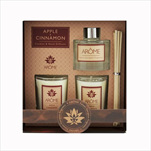 Sv set 2 svíčky a difuzér 50ml Apple Cinnamon - velkoobchod, dovoz květin, řezané květiny Brno