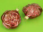 Baňka růže 7cm červená - velkoobchod, dovoz květin, řezané květiny Brno
