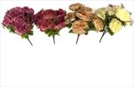 Uk pivonka kytice x9 mix barev - velkoobchod, dovoz květin, řezané květiny Brno