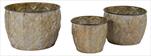 Obal Emir Egg Pot Gold S3 D24,5/38H20/27 - velkoobchod, dovoz květin, řezané květiny Brno