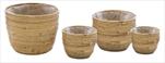 Obal Colin Egg Pot Natural S4 D16/31H15/27 - velkoobchod, dovoz květin, řezané květiny Brno