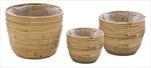 Obal Colin Egg Pot Natural S3 D16/26H15/21 - velkoobchod, dovoz květin, řezané květiny Brno