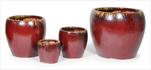 Glorious Belly Pot oxblood S4 D20/48 H18/42 - velkoobchod, dovoz květin, řezané květiny Brno