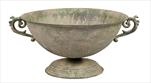 Obal Roman Bowl Old Green D31,5H18 - velkoobchod, dovoz květin, řezané květiny Brno