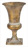 Váza Romantic Old gold 16,5x29cm - velkoobchod, dovoz květin, řezané květiny Brno