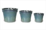 Obaly Glazed Basic Pot Celadon S3 D18/38H15/30 - velkoobchod, dovoz květin, řezané květiny Brno