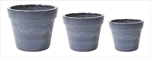 Obaly Glazed Basic Pot Ant.Grey S3 D18/38H15/30 - velkoobchod, dovoz květin, řezané květiny Brno