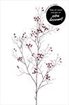 Uk Berries 100cm burgundy - velkoobchod, dovoz květin, řezané květiny Brno
