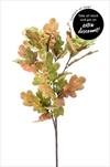 Uk Dub větev 83cm zeleno/růžová - velkoobchod, dovoz květin, řezané květiny Brno
