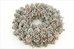 Věnec Pine Pinar Whitewashed 50cm - velkoobchod, dovoz květin, řezané květiny Brno