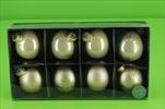 Sklěněné Baňky 57mm 8ks šampaň mix - velkoobchod, dovoz květin, řezané květiny Brno