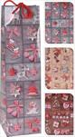 Taška na láhev motiv vánoční - velkoobchod, dovoz květin, řezané květiny Brno