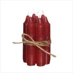 SV Sada svíček dlouhých taupe v.11cm/7ks - velkoobchod, dovoz květin, řezané květiny Brno
